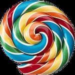 סוכריה עגולה לצור קשר