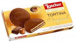 שוקולד טורטינה שישיה חלב לואקר 125 גרם