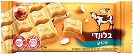 שוקולד בלונדי שקדים 100 גר'