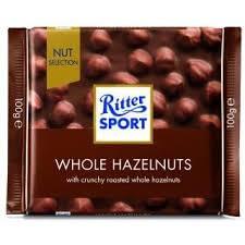 שוקולד ריטר ספורט אגוזים שלמים 100 גר'